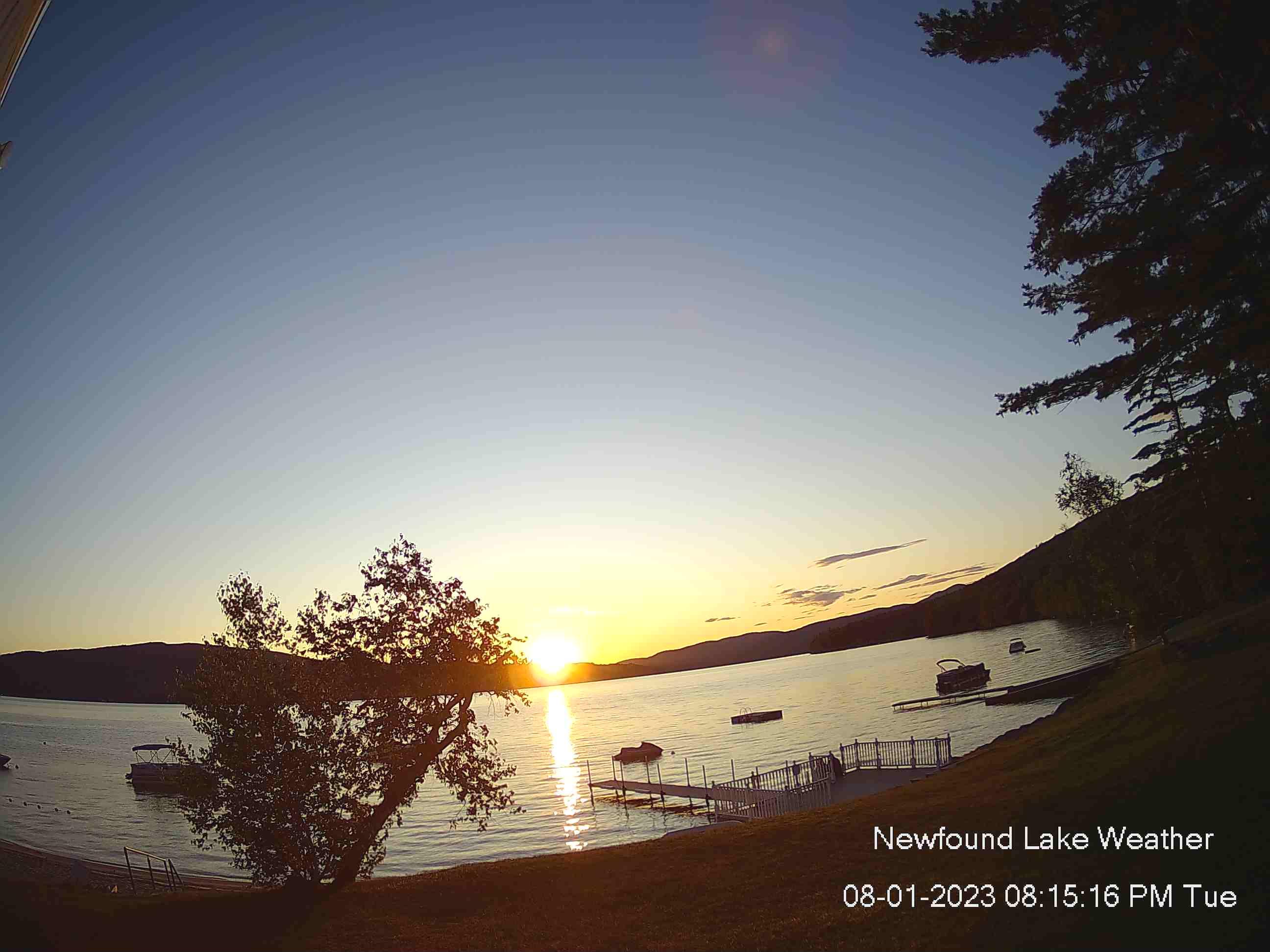 Newfound Lake Webcam – Bridgewater New Hampshire